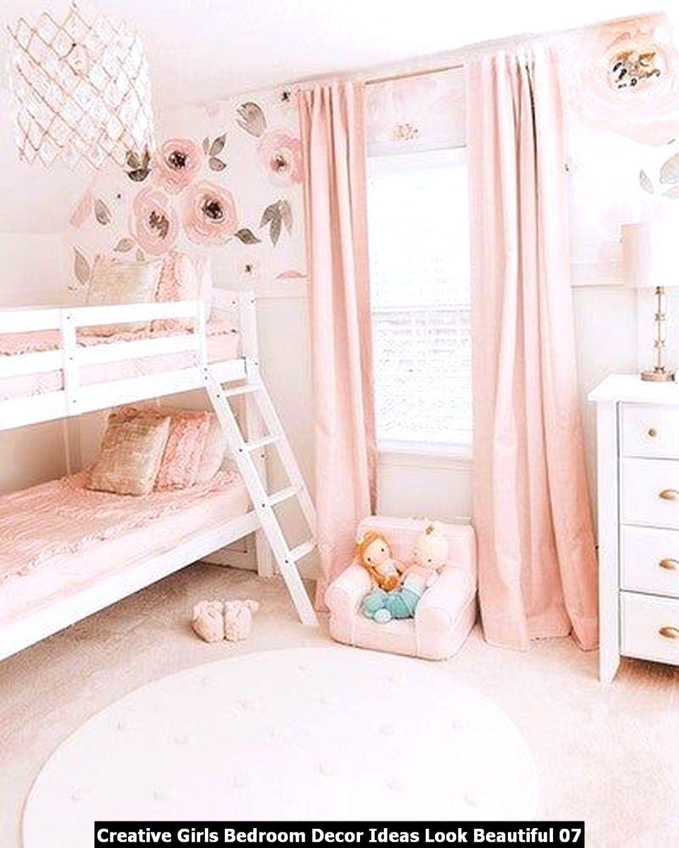 Creative Girls Bedroom Decor Ideas Look Beautiful 07