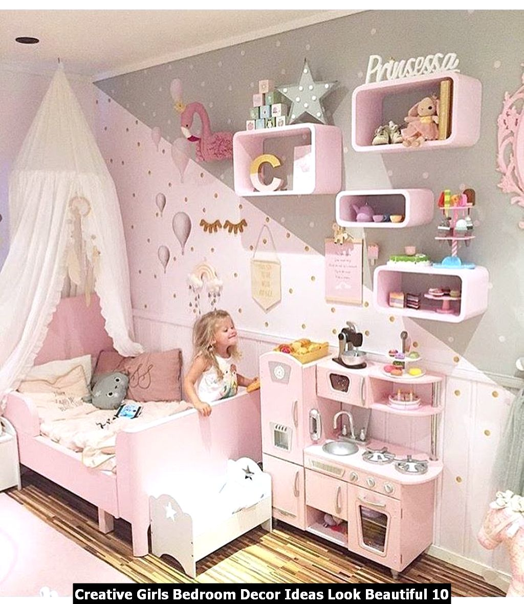 Creative Girls Bedroom Decor Ideas Look Beautiful 10
