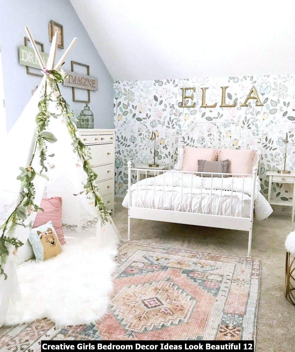 Creative Girls Bedroom Decor Ideas Look Beautiful 12