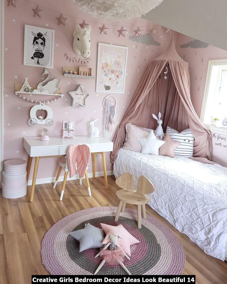 Creative Girls Bedroom Decor Ideas Look Beautiful 14