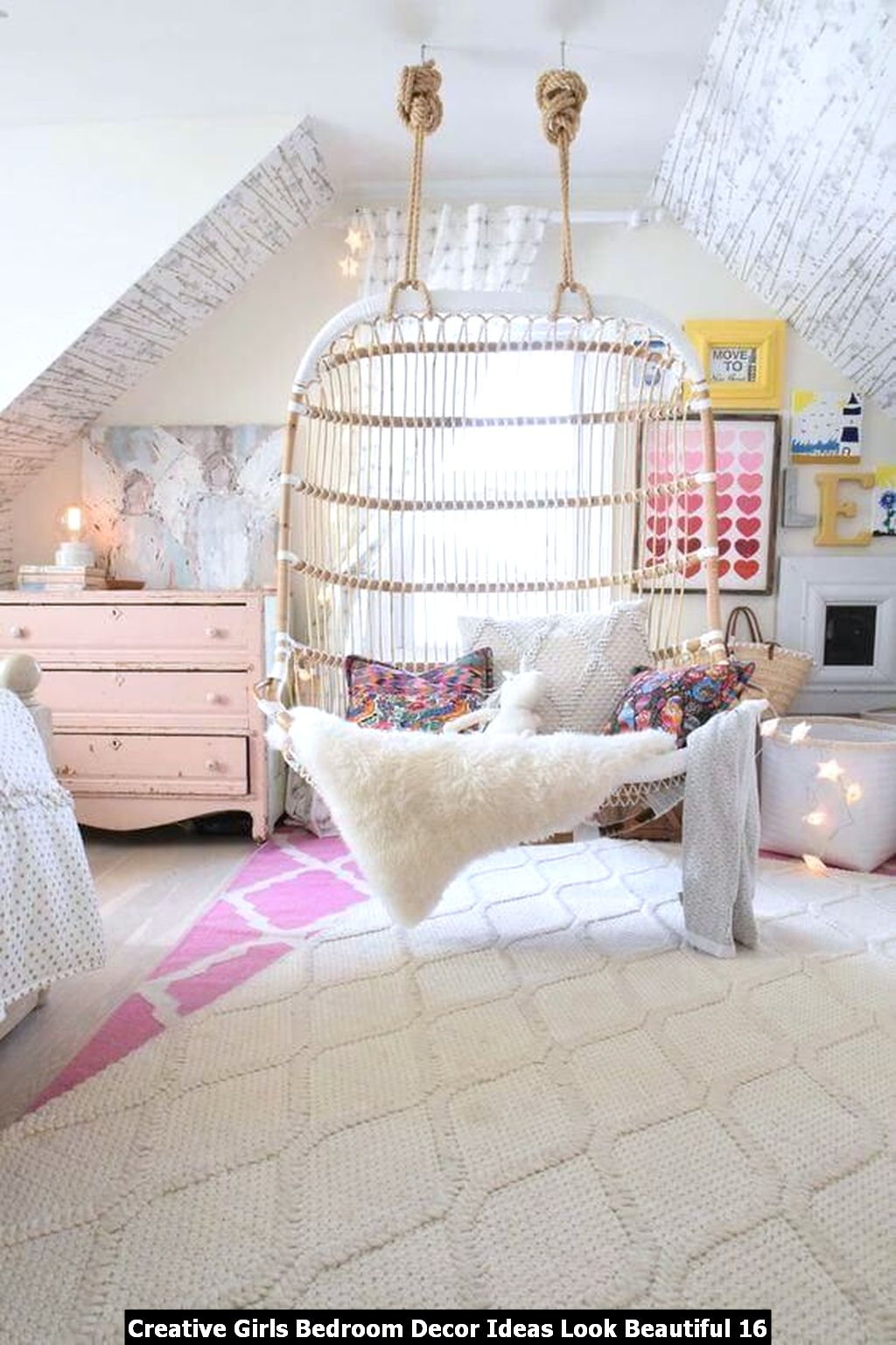 Creative Girls Bedroom Decor Ideas Look Beautiful 16