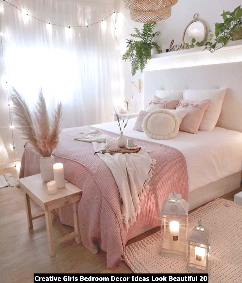 Creative Girls Bedroom Decor Ideas Look Beautiful 20