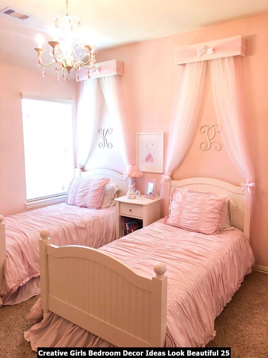 Creative Girls Bedroom Decor Ideas Look Beautiful 25