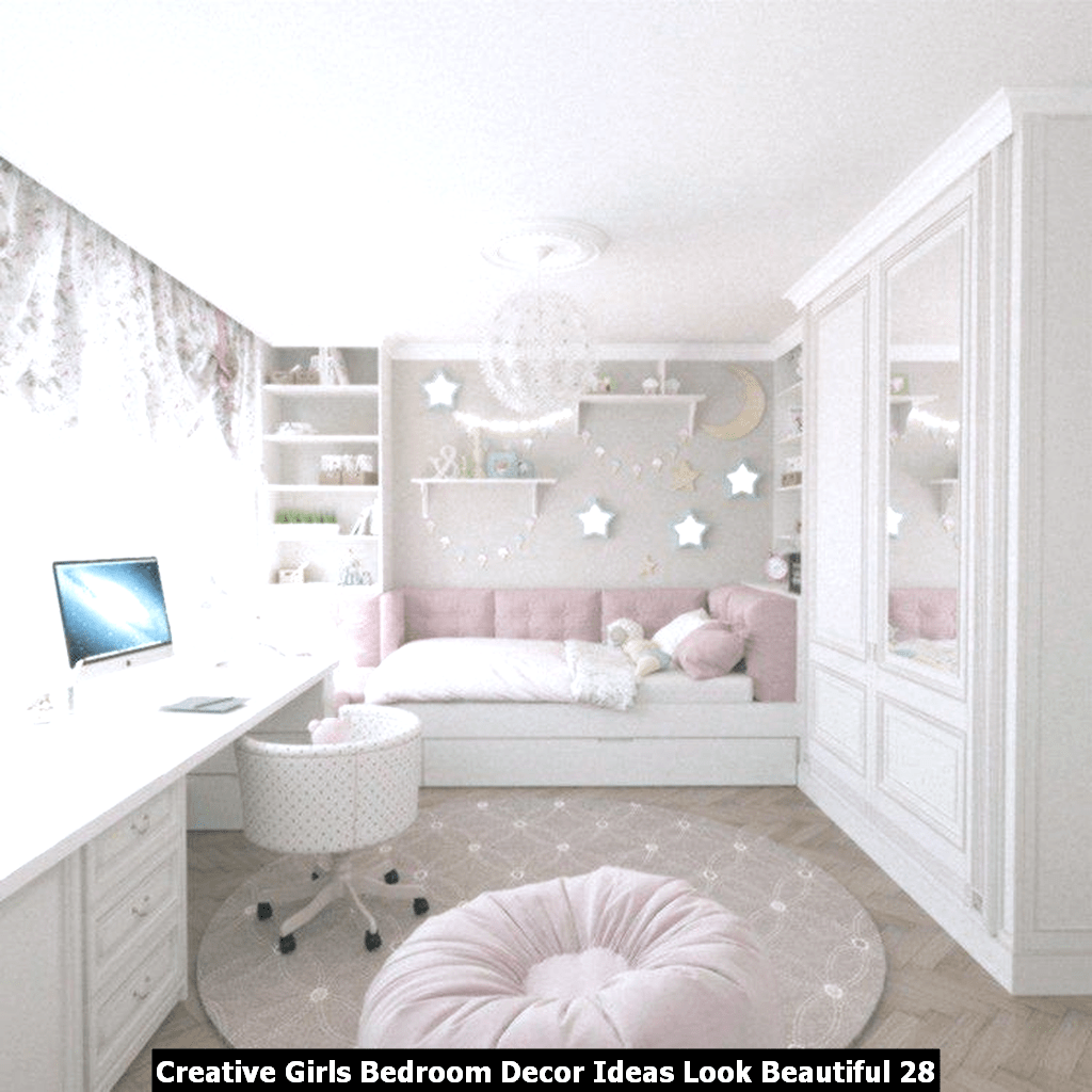 Creative Girls Bedroom Decor Ideas Look Beautiful 28