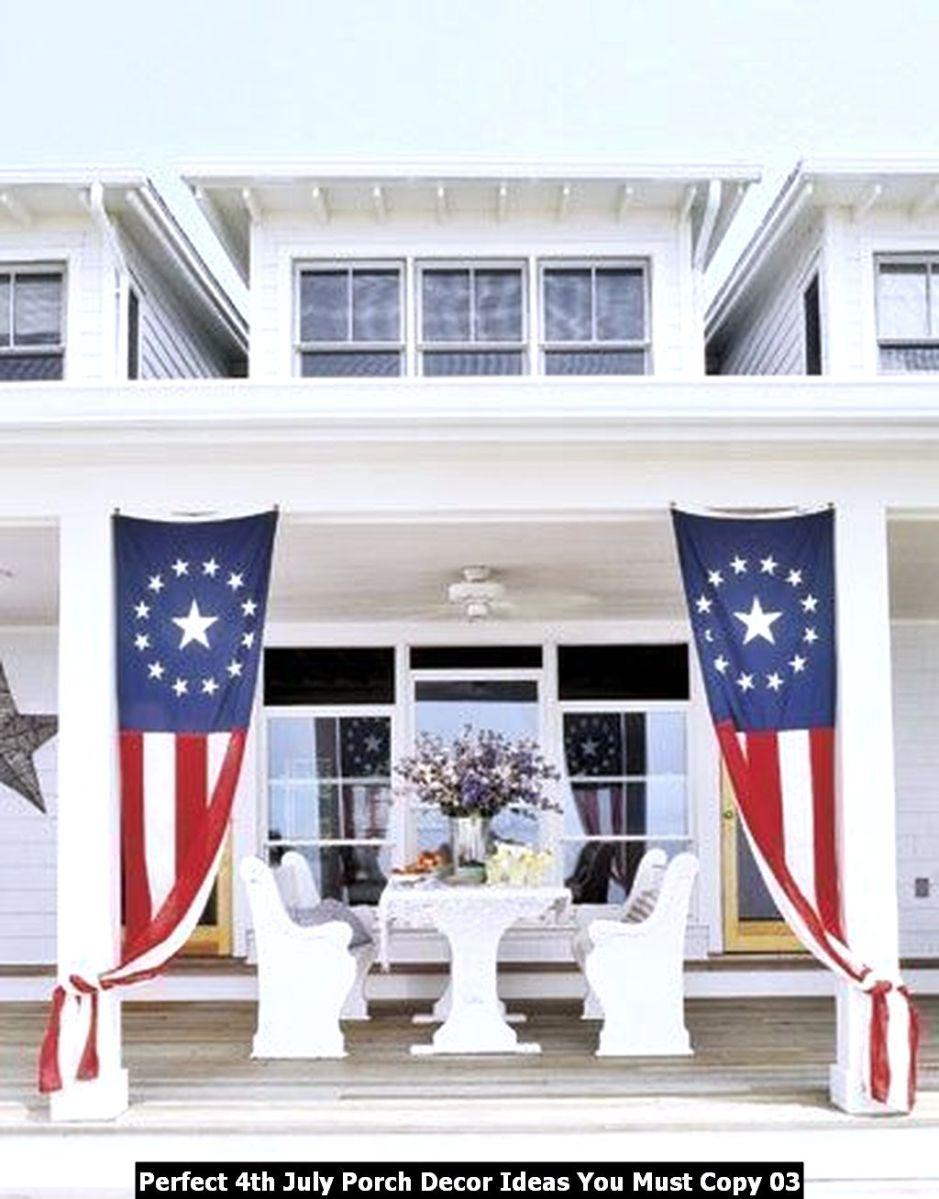 Perfect 4th July Porch Decor Ideas You Must Copy 03