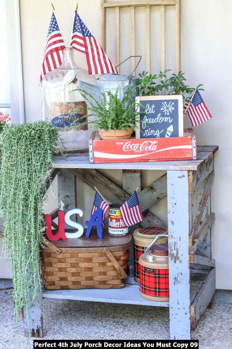 Perfect 4th July Porch Decor Ideas You Must Copy 09