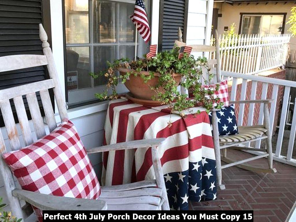Perfect 4th July Porch Decor Ideas You Must Copy 15