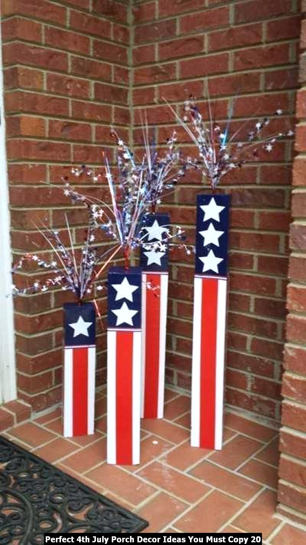 Perfect 4th July Porch Decor Ideas You Must Copy 20