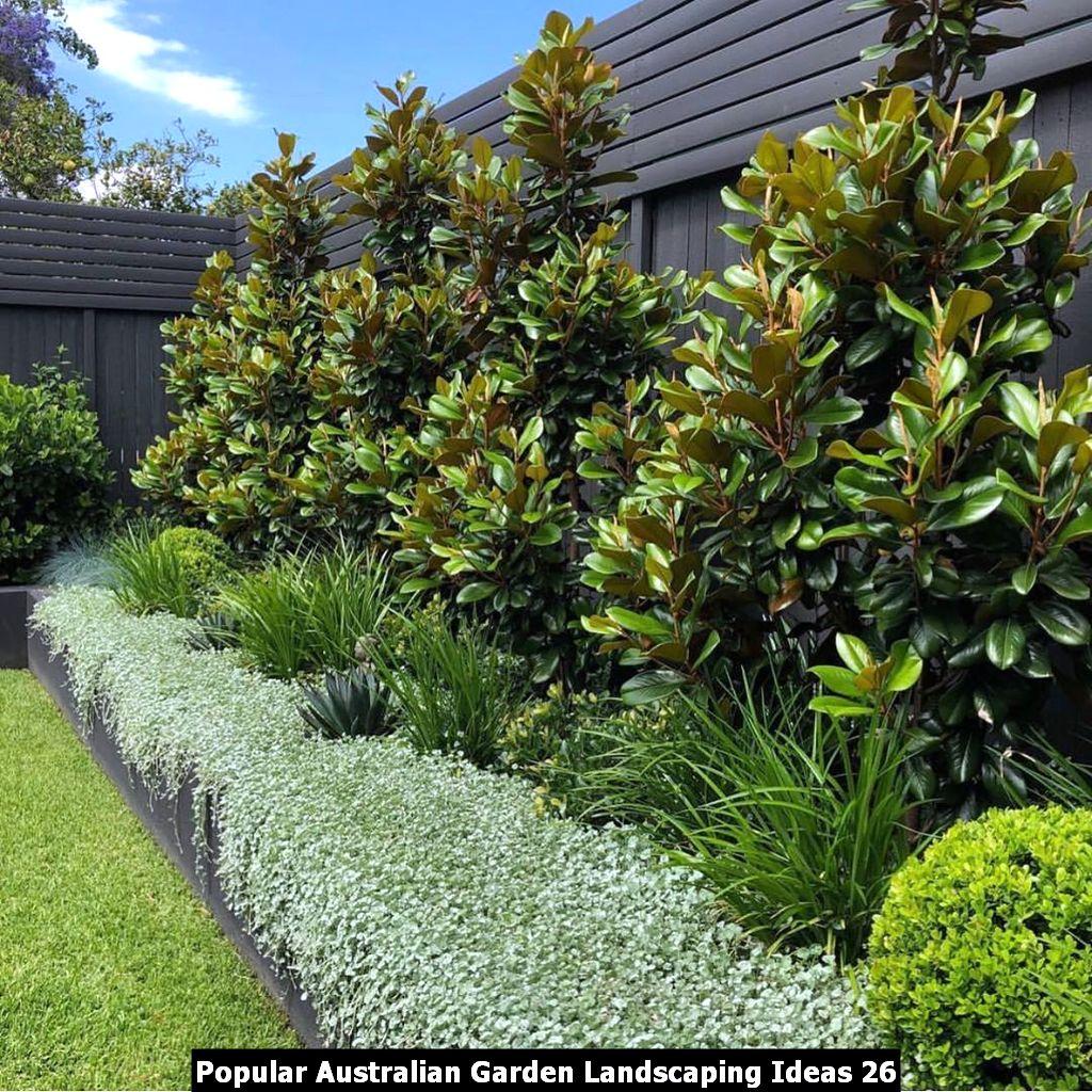 Popular Australian Garden Landscaping Ideas 26