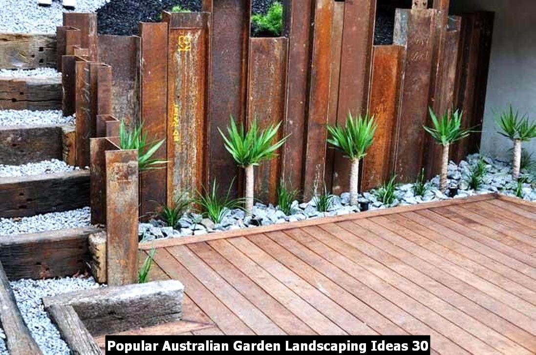 Popular Australian Garden Landscaping Ideas 30
