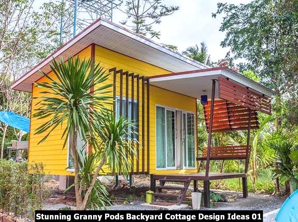 Stunning Granny Pods Backyard Cottage Design Ideas 01
