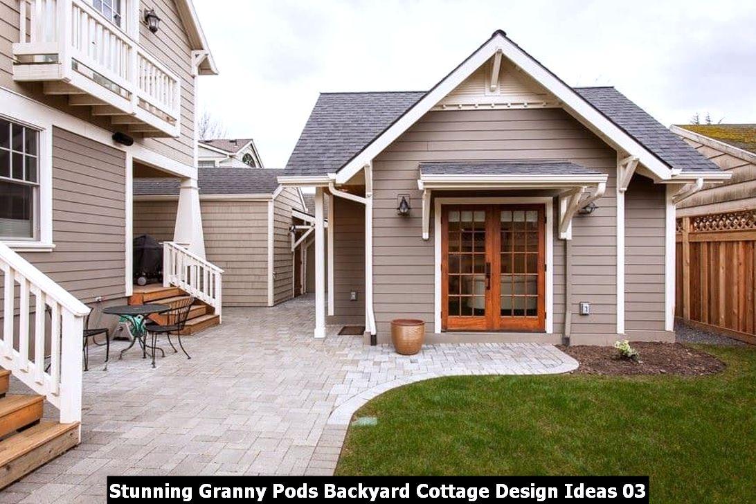Stunning Granny Pods Backyard Cottage Design Ideas 03