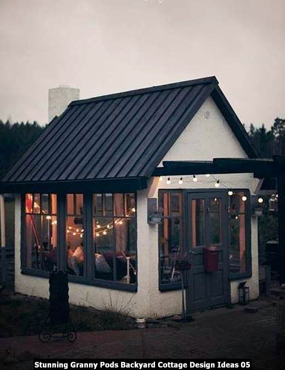 Stunning Granny Pods Backyard Cottage Design Ideas 05