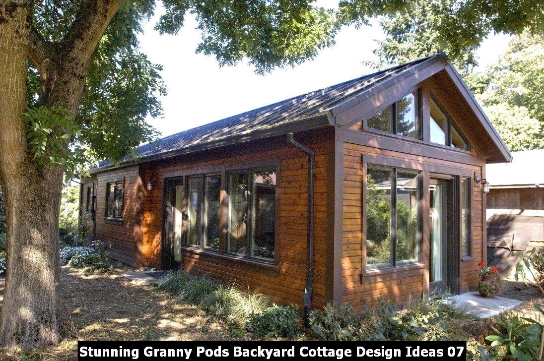 Stunning Granny Pods Backyard Cottage Design Ideas 07