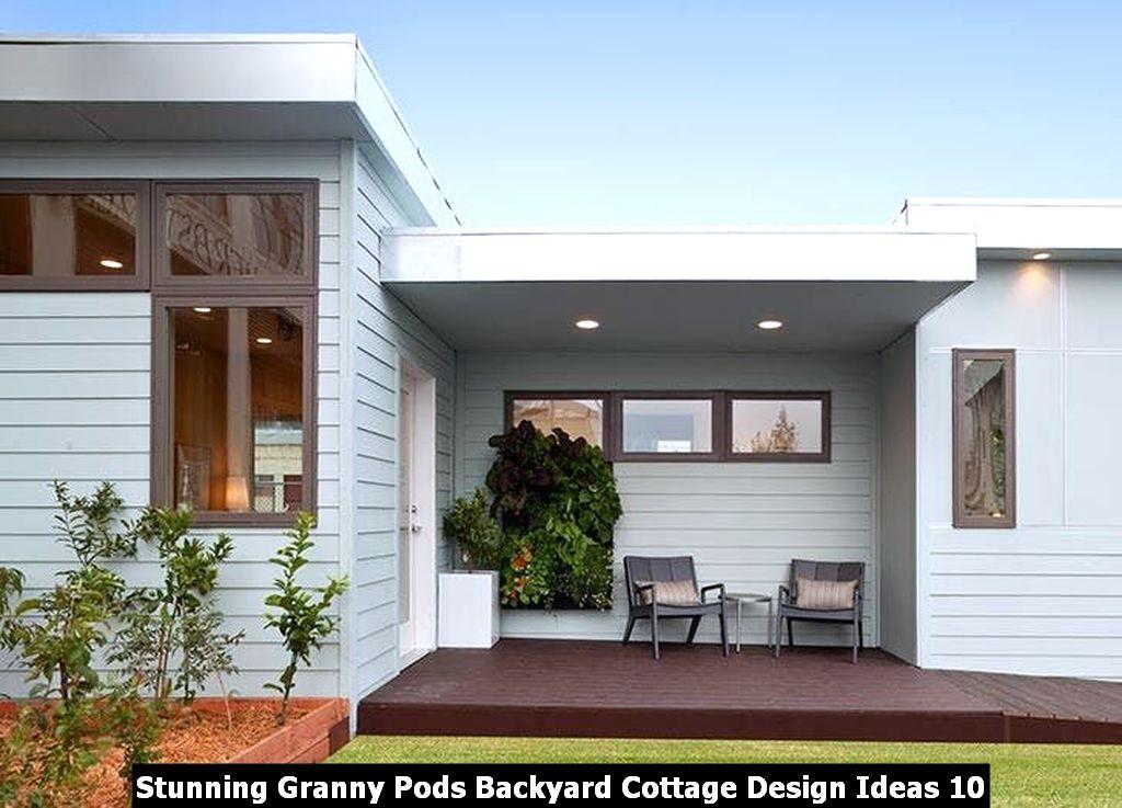 Stunning Granny Pods Backyard Cottage Design Ideas 10