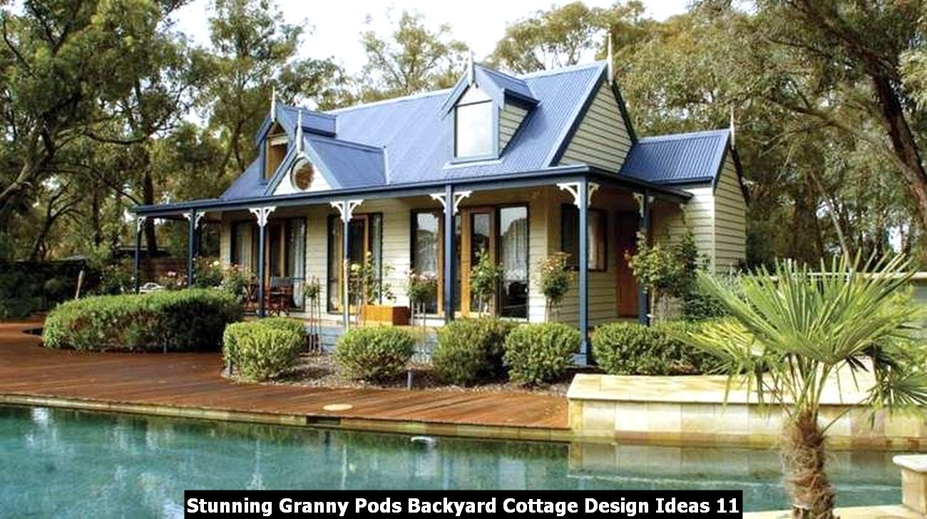 Stunning Granny Pods Backyard Cottage Design Ideas 11