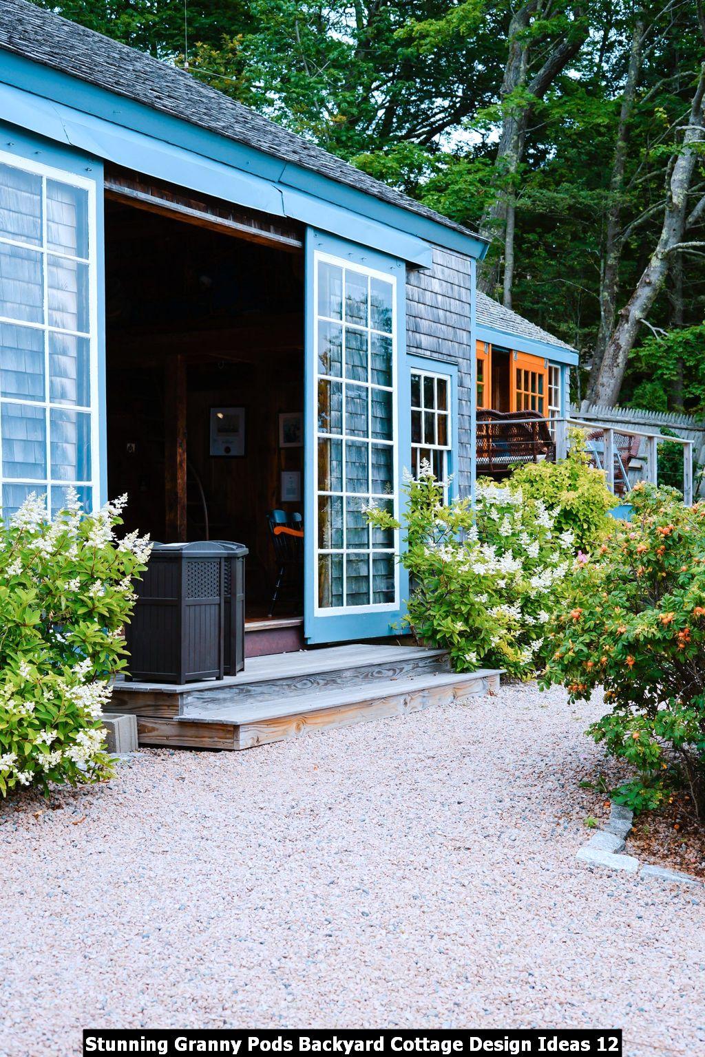 Stunning Granny Pods Backyard Cottage Design Ideas 12