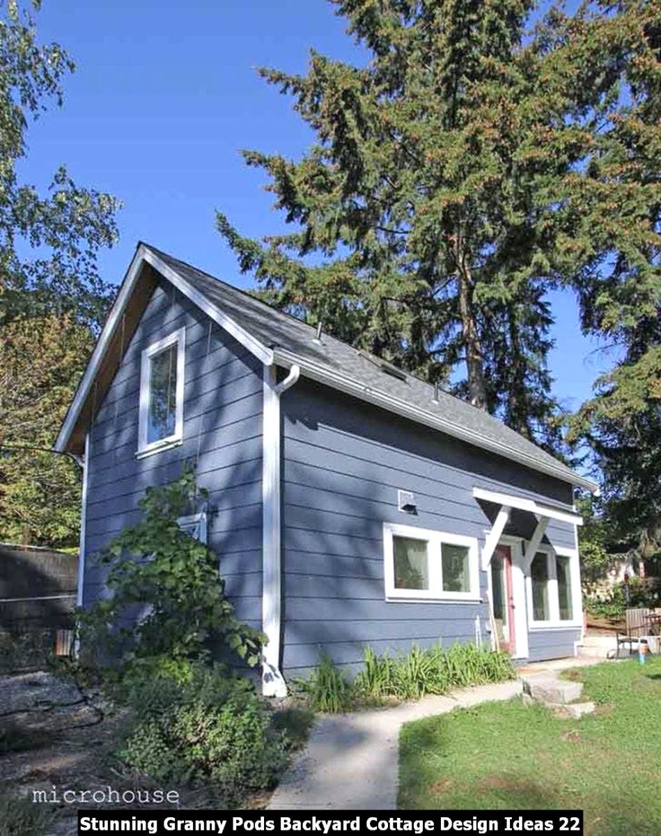 Stunning Granny Pods Backyard Cottage Design Ideas 22