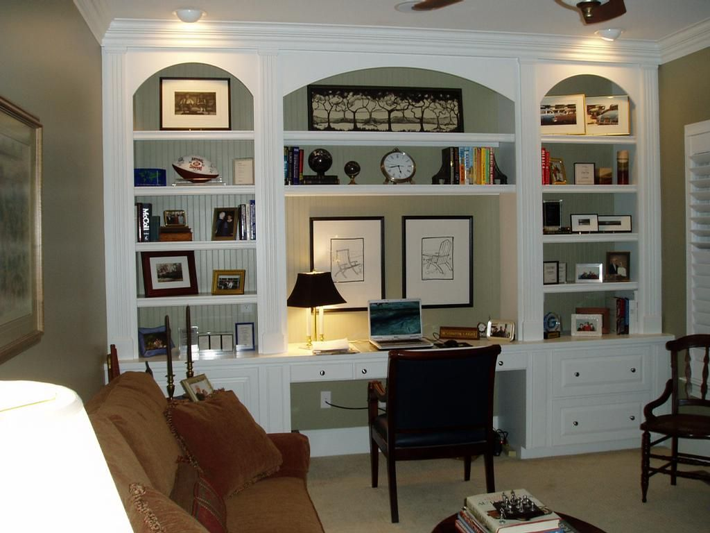 Home Office Built Ins
