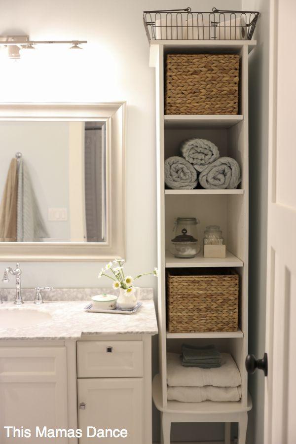 Bathroom Storage Shelves
