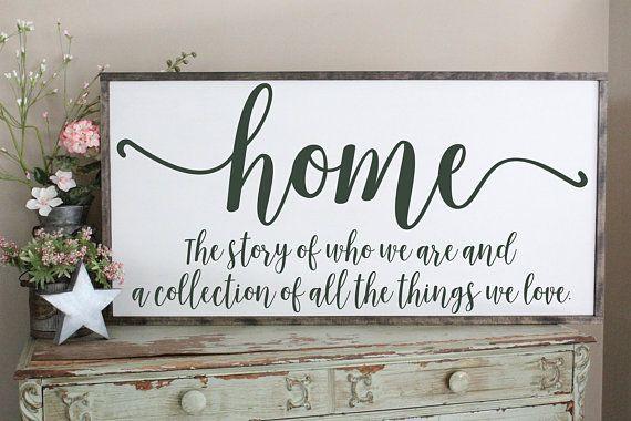 Home Decor Signs Sayings