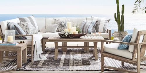 Pottery Barn Outdoor Furniture