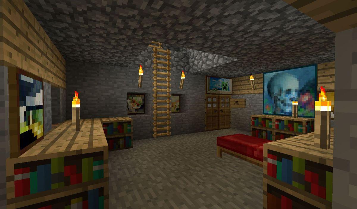 Minecraft Bedroom Decor