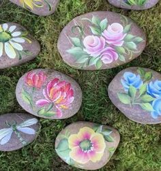 Painted Rock Garden Ideas