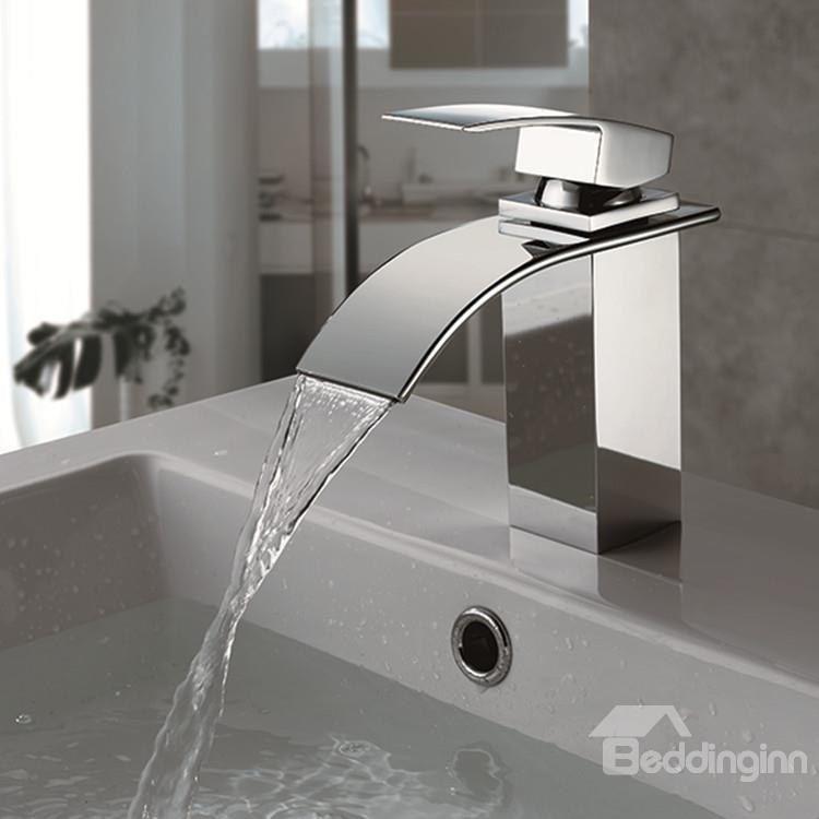 Waterfall Bathroom Faucet