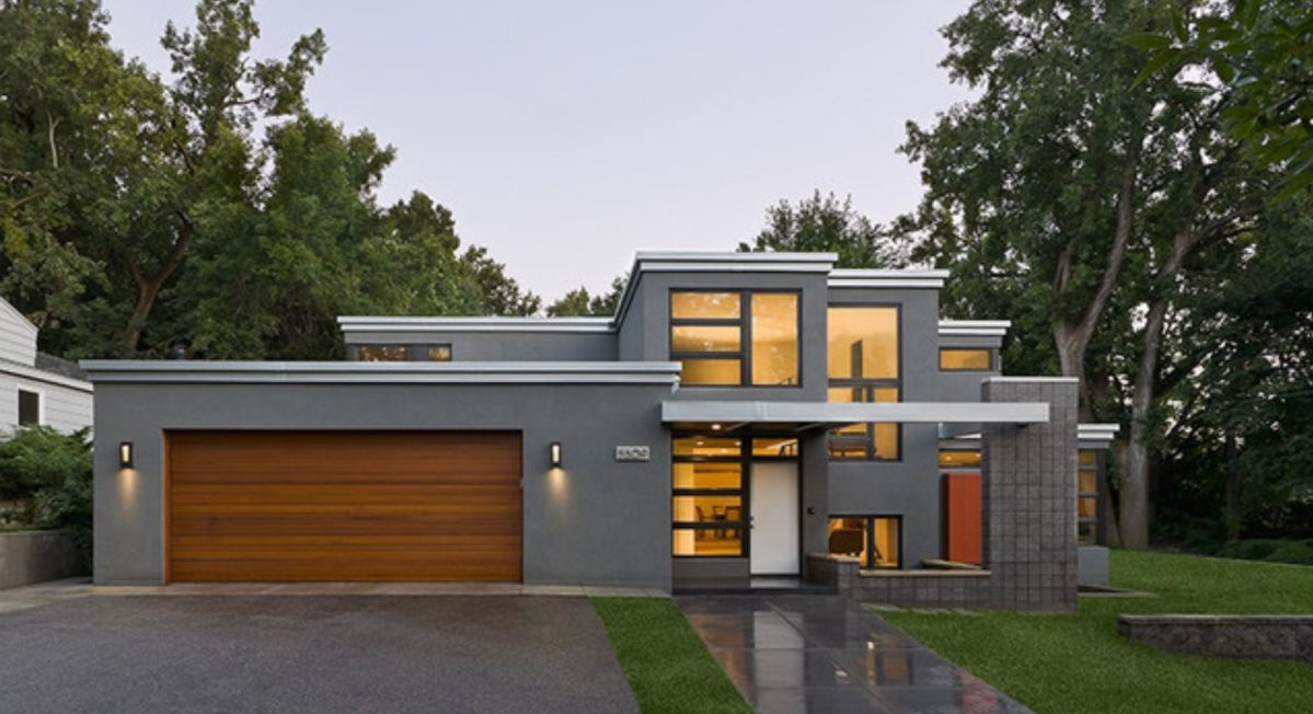 Flat Roof Home Designs
