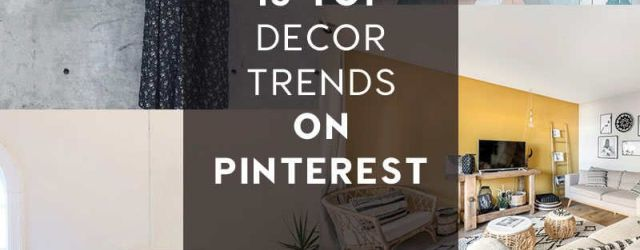 New Home Decor Trends
