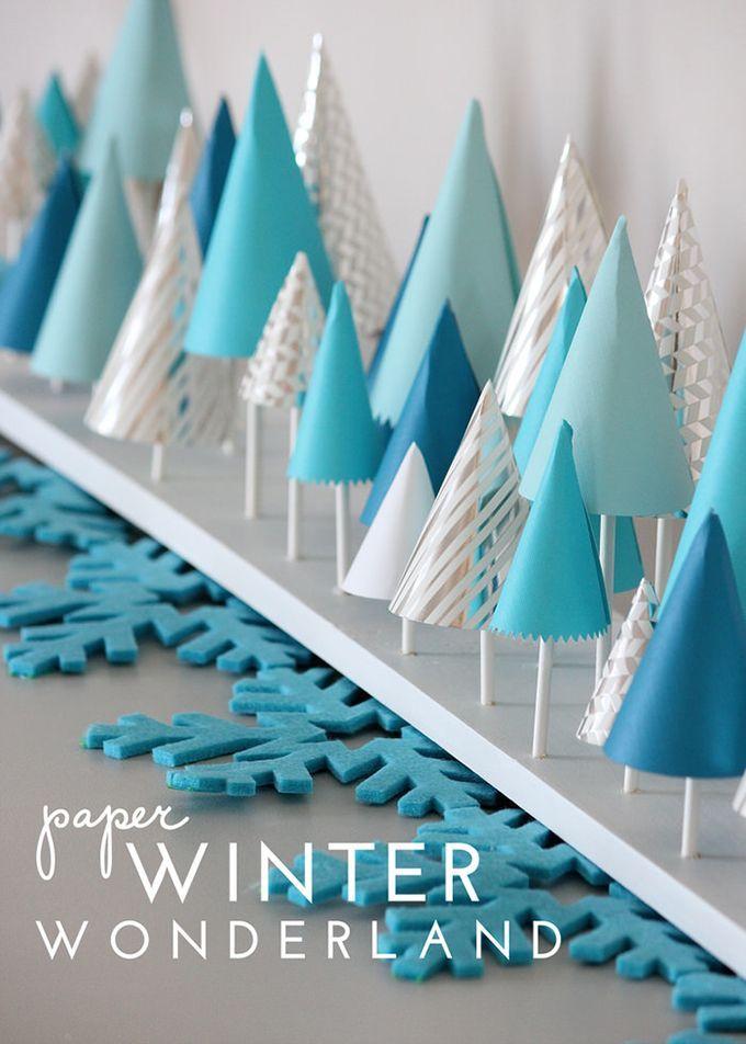 DIY Winter Wonderland Decor