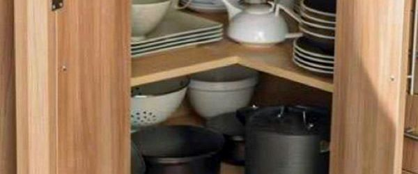 Corner Kitchen Cabinet Ideas