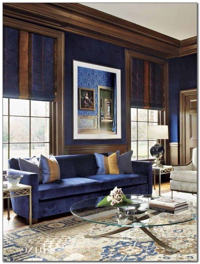 Royal Blue Home Decor