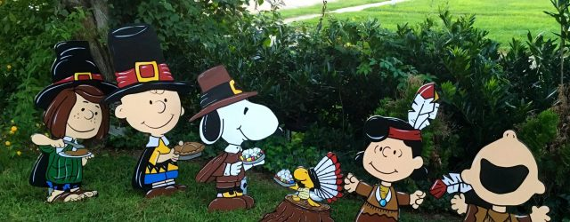 Charlie Brown Thanksgiving Decorations
