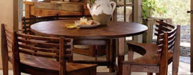 Round Kitchen Table Set