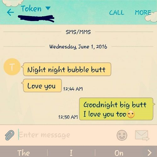 Cute goodnight texts for your crush