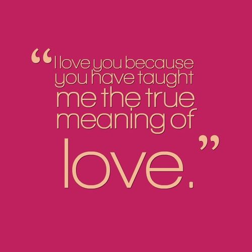 quote about love and feelings