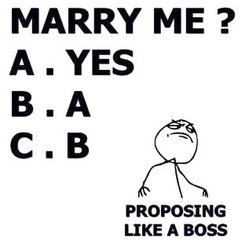 on marriage test