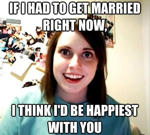 girl wants to marry you