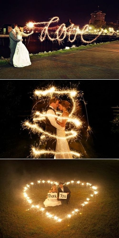 fire show at the wedding