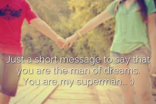 Love message for hubby