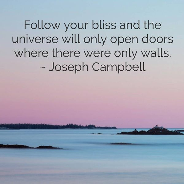 Cheer up quotes for boyfriend from Joseph Campbell
