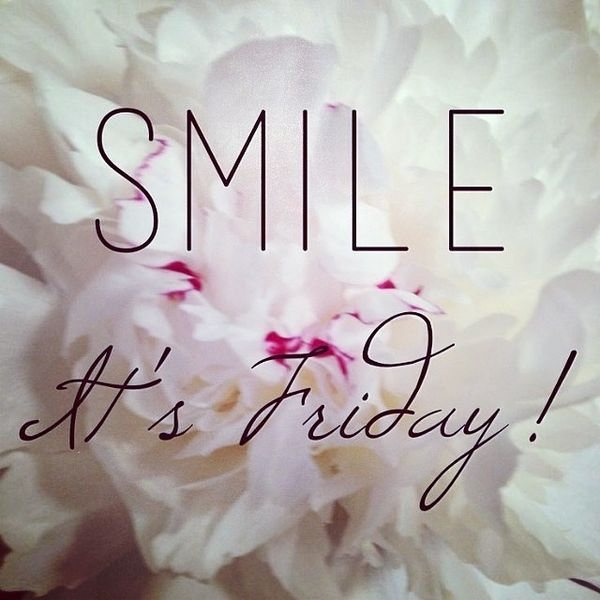 smile it is friday