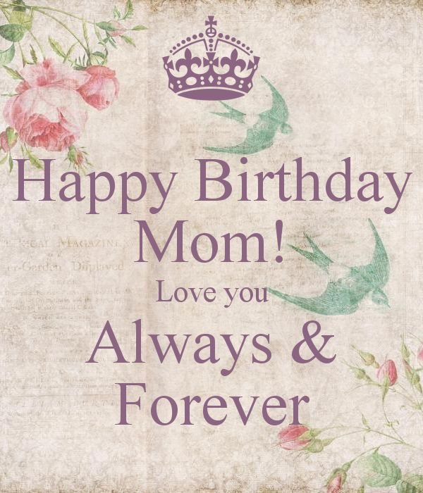Happy Birthday Quotes Mom ~ Happy birthday mom quotes and wishes with images