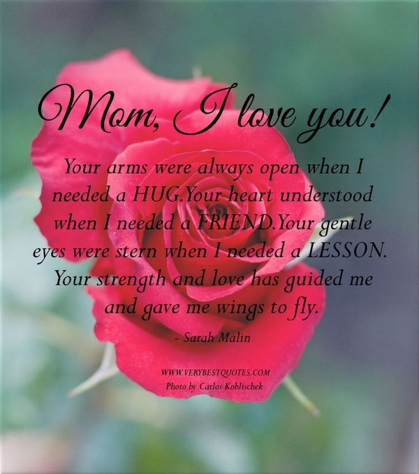 best mom quotes from daughter 1