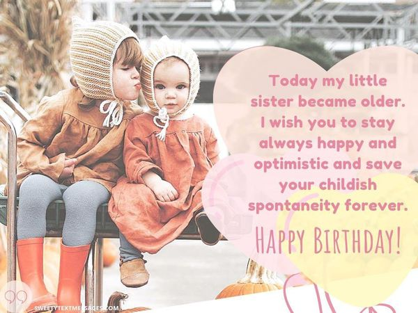 60 Happy Birthday Sister Quotes And Messages 2019