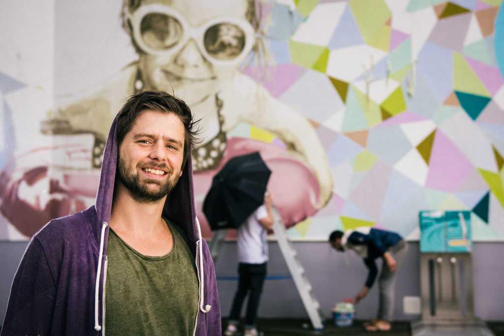 Roland Matthes Schwimmhalle , Graffiti-Wettbewerb bei den Stadtwerken Erfurt