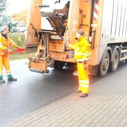 Es wird orange! – Ein Tag als Müllfrau