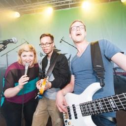 Musik pulsiert durch Erfurts Straßen